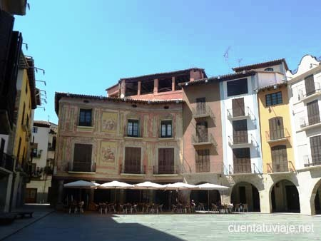 Plaza Mayor de Graus (Huesca)