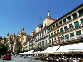 La Plaza Mayor de Segovia