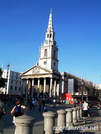 Saint Martin in the Fields, Londres.
