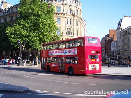 Bus típico de Londres